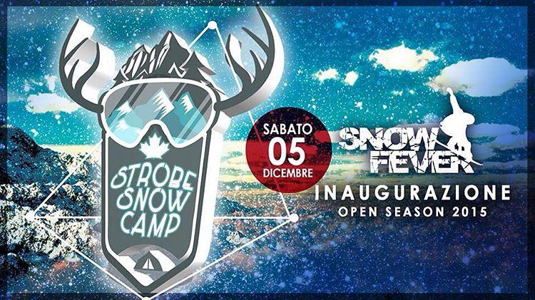 Dal mare alla montagna, cambia la forma ma non la sostanza !! #StrobeSnowCamp #Strobeparty  @ Snow Fever ❄️